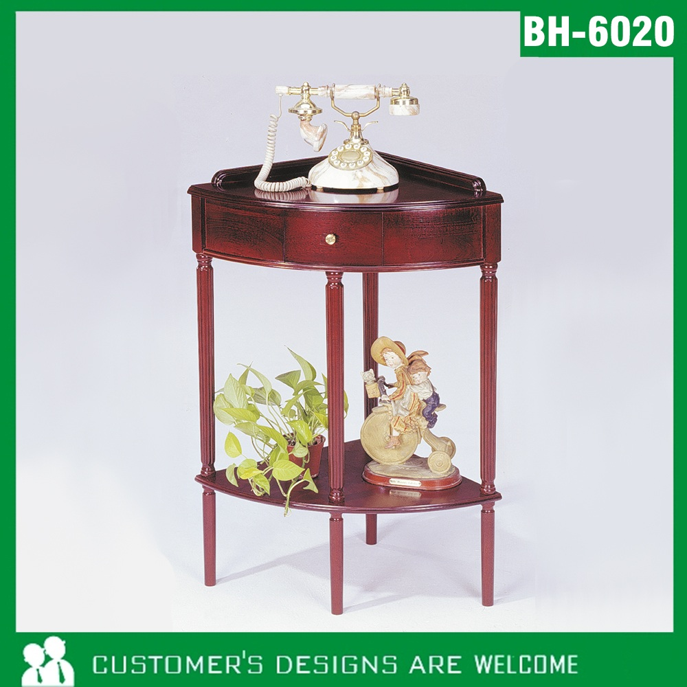 BH-806] Living Room Wooden Corner Table(BH-806) of Wooden Table ...
